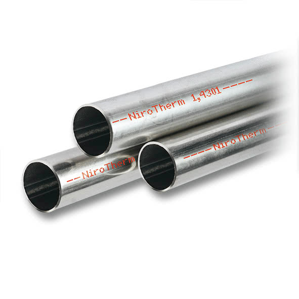 9100 - NiroTherm pipe 6 m rods