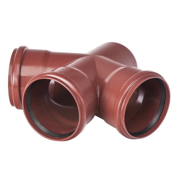 M3-187D - Master 3 Double branch pipe 87.5°