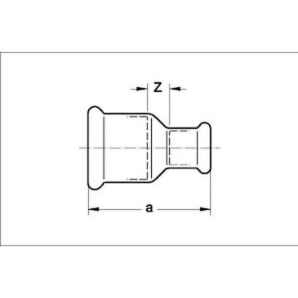 12240 - SANHA-Press Solar Reducing coupling Bild 2