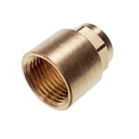 4270G - Straight Female Adaptor C x F