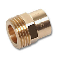 4370 - Screwed piece flat joint