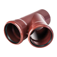 M3-145E - Master 3 Single branch pipe 45°