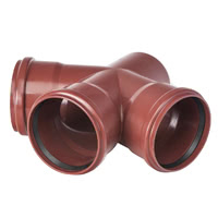 M3-167D - Master 3 Double branch pipe 67.5°